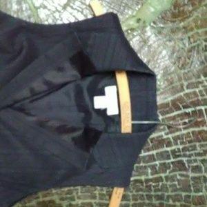 Ann Taylor Loft tuxedo vest